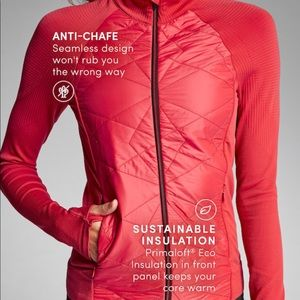 Athleta Jackets & Coats - NWT Athleta Insulted Flurry Jacket in Red
